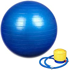 Absales Exercise Ball - Professional Grade Anti-Burst Yoga Fitness, Balance Ball for Pilates, Yoga, Stability Training and Physical Therapy