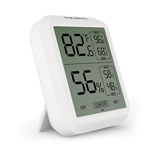 Inkbird ITH-20 Digitale Hygrometer Thermometer, Temperatur Feuchtemessgerät, ℃ / ℉ Schalter,...