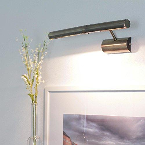 Bilderleuchte Bilderlampe in Bronze E14-Fassung Bilderbeleuchtung Lampe Leuchte 3642