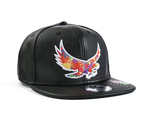 Snapbacks Baseballkappe, Undergound-Kulture Farb-Kollektion, Adler, Einheitsgröße -