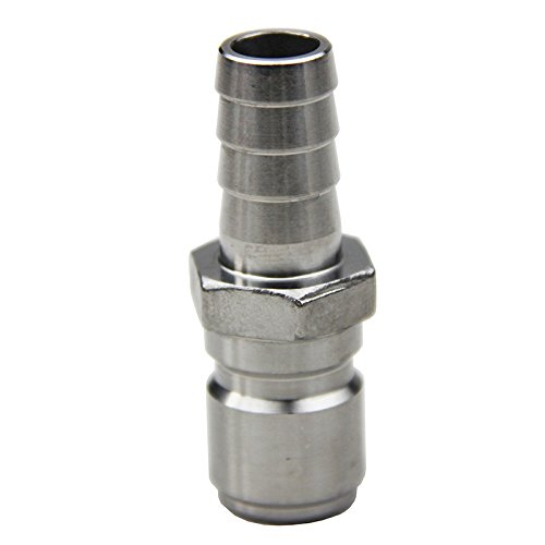 304 en acier inoxydable de déconnexion rapide connecteur Home Brew de brassage amateur QD Male 1/2 Brab