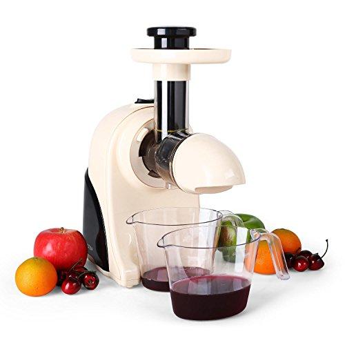 Klarstein Fruitpresso Moreno, estrattore di succhi a freddo da 150 W e 80 g/min