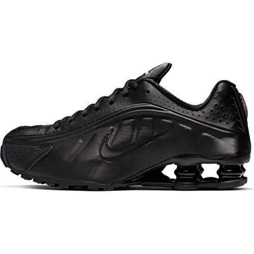 Nike Damen Shox R4 Leichtathletikschuhe, Mehrfarbig Black/Max Orange 000, 37.5 EU
