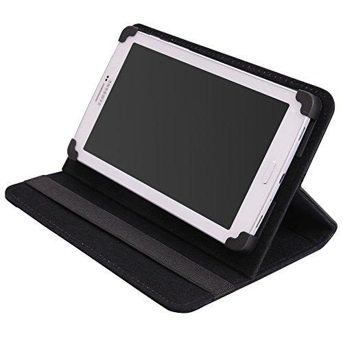 andyhandyshop Tablet Tasche für Blaupunkt Polaris 808 8 Zoll 20,3cm 8 Zoll 20,3cm Bookstyle Tasche Etui Schutzhülle Grün