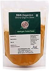 B&B Organics Turmeric Powder, 500 Grams