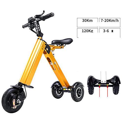 MYYDD 36V 250W Elektroroller DREI Räder Faltbare E-Roller 120kg Last - City Commuter Electric Bike,B