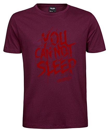 makato Herren T-Shirt Luxury Tee Freddy Wine