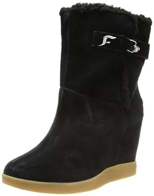 Fornarina Womens Liesel Schlupfstiefel Black Schwarz (black 0000) Size: 40