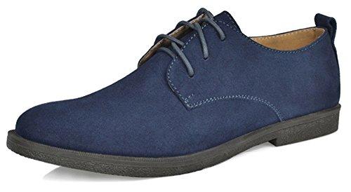 Fangsto  Shoes, Chaussures à lacets garçon homme Med. Navy