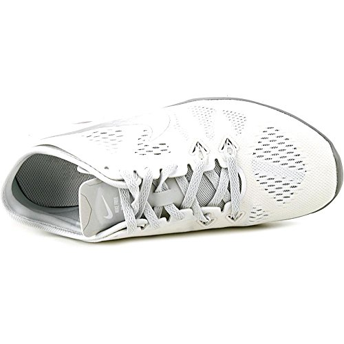 Nike Damen Wmns Free 5.0 TR Fit 5 Hallenschuhe, Talla Weiß (White/Metallic Silver-Pr Pltnm)