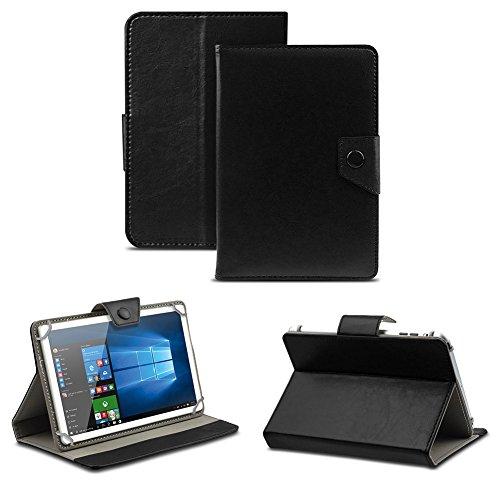 NAUC Universal Tasche Schutz Hülle Tablet Schutzhülle Tab Case Cover Bag Etui 10 Zoll, Farben:Schwarz mit Magnetverschluss, Tablet Modell für:Allview Wi10N Pro 10.1