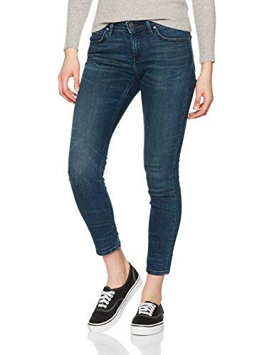 Lee Damen Skinny Jeans Scarlett, Blau (Strummer Worn Kian), 34 (Herstellergröße: 26/29)