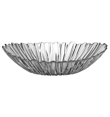Preisvergleich Produktbild Pasabahce 10611Aurora Tafelaufsatz Glas, Oval, 33x 26cm
