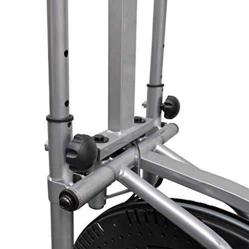 vidaXL Heimtrainer Ergometer Fitness Stepper Walking Ellipsentrainer - 7