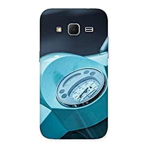 Cute Scooter Meter Multicolor Back Case Cover for Galaxy Core Prime