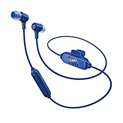 JBL E25BT Bluetooth In-Ear Headphones (Blue)
