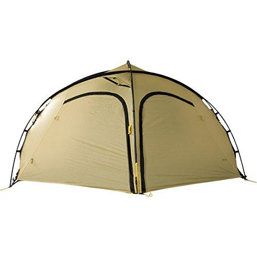 Profi Kuppelzelt Forum 42 Zero-G Line Wechsel tents, 2 Personen, superschnell und leicht Aufzubauen, minimales Packmaß, ohne Heringe aufstellbar, Farbe: sand