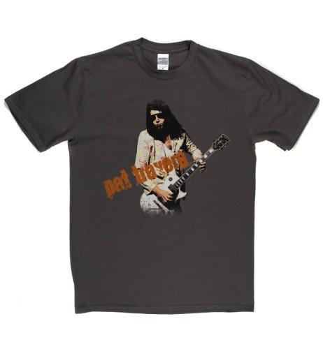 Pat Travers Live Canadian Rock Hard Blues T-shirt Grau