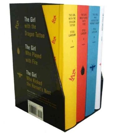 By Stieg Larsson ( Author ) [ Stieg Larsson's Millennium Trilogy Deluxe Boxed Set: The Girl with the Dragon Tattoo, the Girl Who Played with Fire, the Girl Who Kicked the Hornet's By Nov-2010 Hardcover