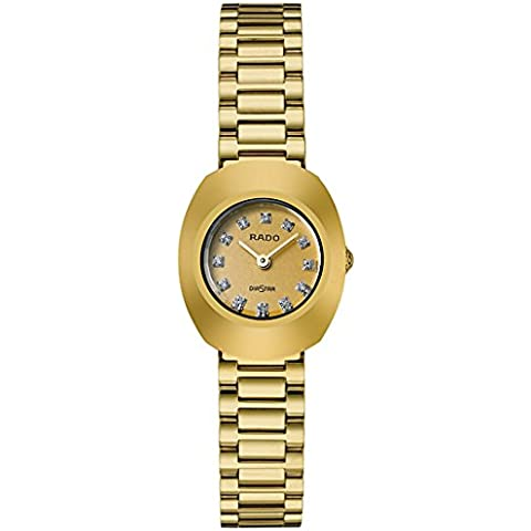 Rado - Orologio da donna automatico Diastar Jubile originale, con diamanti - Womens Diamante Orologio Automatico