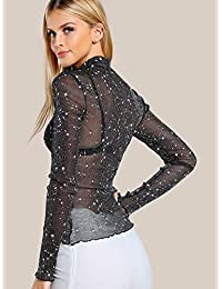 3154564946b4b0 Suchergebnis auf Amazon.de für  glitzer shirt damen  Bekleidung