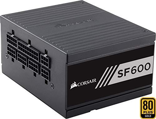 Corsair SF600 PC-Netzteil (Voll-Modulares Kabelmanagement, 80 Plus Gold, 600 Watt, EU)
