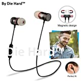 #4: Die Hard(TM) Magnetic Wireless Bluetooth Sports Headset Hands-free Mic (Color May Vary)
