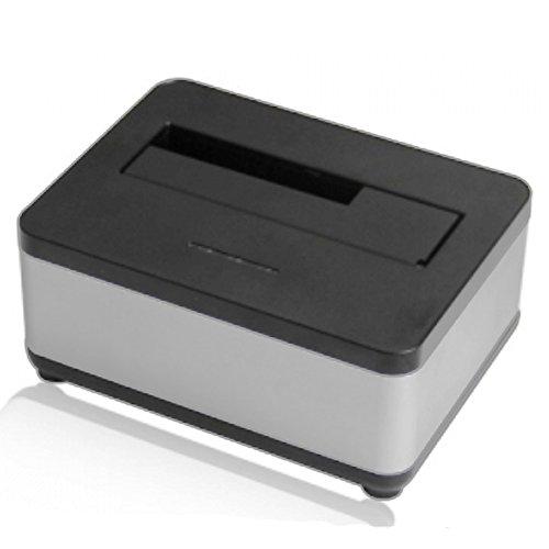 AgeStar USB 3.0 Offline Klon Docking Station mit 2 Einschüben, optimiert für HDD SSD SATA Externe Festplatten-Dockingstation für 2,5