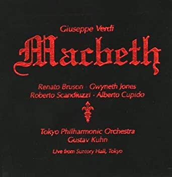 Giuseppe Verdi: Macbeth - Live from Suntory Hall,Tokyo 1992 (2 CD-Box)