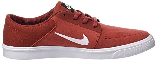 Da cayenne Sb Nike Skate nero Scuro Rojo Bianco Scarpe Portmore Uomo wtq0Z