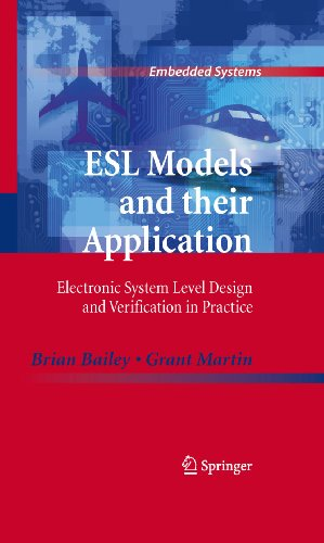 Esl Models And Their Application Electronic System Level Design And Verification In Practice Embedded Systems Pdf Download