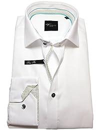 Venti Edition Slim Fit Business Langarmhemd weiß