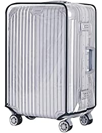 40d91c121c0f Shouhengda Waterproof Dustproof Rain Cover Clear Luggage Cover Travel  Luggage Suitcase Cover 20-28 Inch