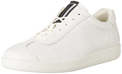 Ecco Soft 1 Men's, Sneakers Basses Homme Blanc (Bright White)