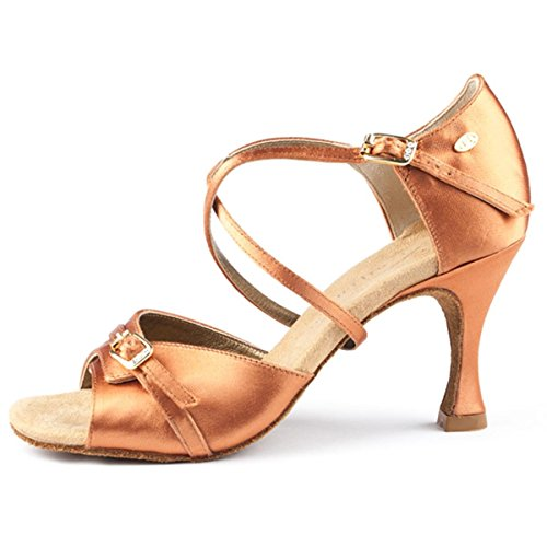 PortDance , Chaussons de danse pour femme beige beige 38 Dark Tan