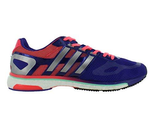 Adidas Adizero Adios Boost W Chaussures Taille 7.5 Blast Purple/Red Zest/Ech Silver Metallic