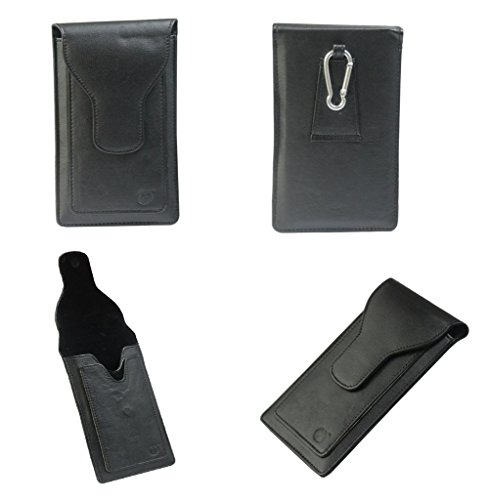 Brain Freezer A16 F G12 Series Leather Pouch Holster Case For Nokia Asha 210 Black  available at amazon for Rs.990