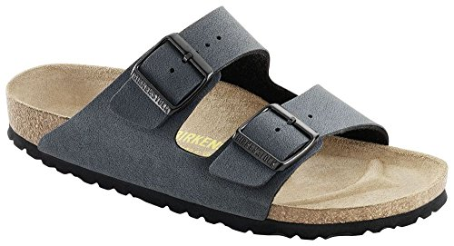 Birkenstock Arizona, Chaussons mixte adulte (Basalt)