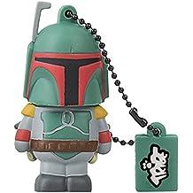 Tribe Disney Star Wars Boba Fett Clé USB 8 Go Fantaisie Pendrive USB Flash Drive 2.0 Originale Stockage Memoire, Idee Cadeau Figurine 3D, Stockage USB en PVC avec Porte-Clés – Multicolore