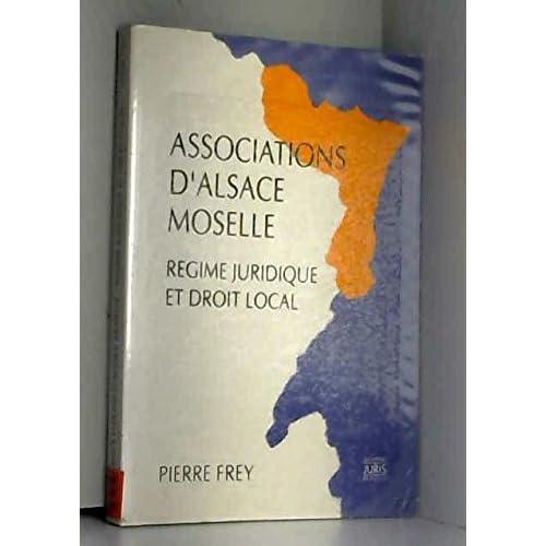 Associations d'Alsace Moselle : Régime juridique et droit local
