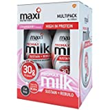 MaxiMuscle Promax Ready to Drink, 330 ml, Strawberry, Pack of 4