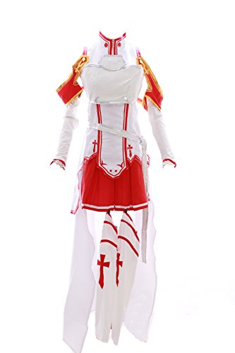 MN-14 Asuna Sword Art Online SAO weiß Set Anime Manga Cosplay Kleid Kostüm (Gr. XL)