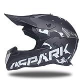 Qianliuk Erwachsene Helme Schmutz Fahrrad Downhill Cross Cap Off Road MotorradHelme Top ABS Motobiker Helm