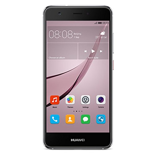 Huawei nova Smartphone (12,7 cm (5 Zoll), 32GB, Single-SIM, 12 Megapixel Kamera, Android) titanium grau Camera Mp3 Mp4 Video