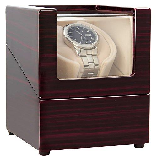 CHIYODA Uhrenbeweger für eine Uhr Watch Winder mit flüsterleise Motor - [100% Handgemacht] (WW01) -