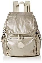 Kipling City Pack Mini - Zaino Donna, Oro (Cloud Metal), 27x29x14 cm