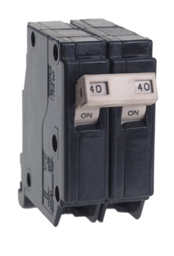 Cutler Hammer CH240 Circuit Breaker, 2-Pole 40-Amp by Connecticut Electric - Connecticut Electric Circuit Breaker