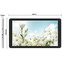 YUNTAB D102 10.1 pulgadas Tablet 1G+8G Android 6.0,A33 Quad-core CortexTM-A7 1.5GHz 1024*600 - Doble cámara - Bluetooth 4.0- Wifi