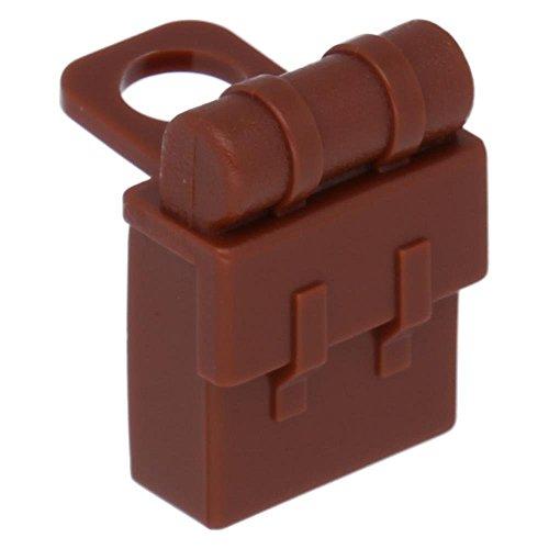 LEGO Piraten - 1 Minifiguren Rucksack nicht zu öffnen im neuen Braun