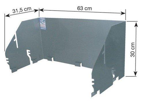 Aufsatz-Windansteckblech Aufsatz-Windansteckblech für